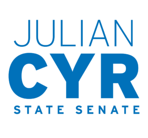 <span>Julian Cyr for State Senate</span><i>→</i>